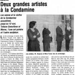 Les salons de La Condamine -  Corenc 2002